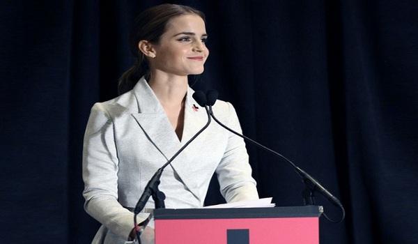 Emma Watson é embaixadora da Boa Vontade da ONU Mulheres