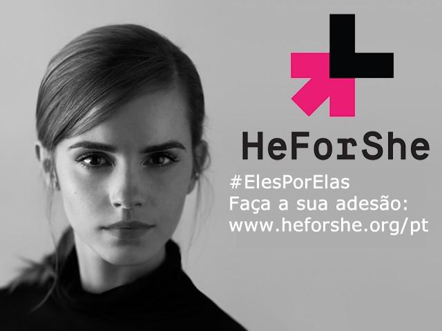 ONU Mulheres lança site em Português no portal global do Movimento ElesPorElas (HeForShe)/