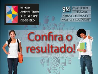 25.02.14   Sai o resultado do 9º Prêmio Construindo a Igualdade de Gênero/