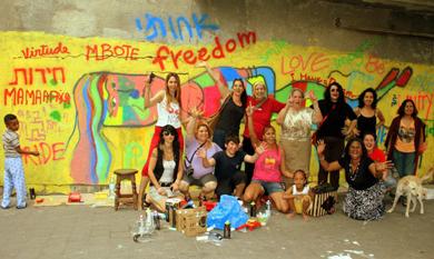 27.02.13   ONU Mulheres promove evento com grafiteiras para celebrar o Dia Internacional das Mulheres/