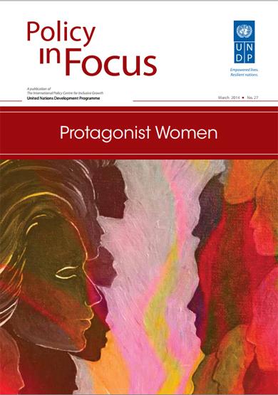 13.03.14   Revista Policy in Focus lançada em comemoração ao Dia Internacional das Mulheres/
