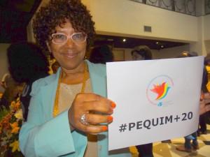 """""""O processo de participação das mulheres negras em Pequim foi liderado por Lélia Gonzalez"""", diz a feminista negra Dulce Pereira/"""