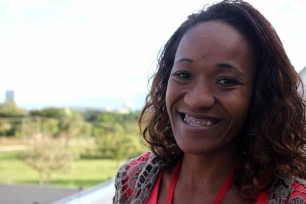 Pedrina Belém do Rosário, 23 anos, é quilombola e estudante de Letras. Foto: ONU Mulheres
