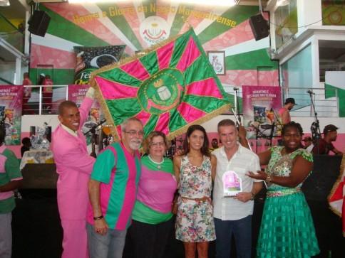 ONU Mulheres e Estação Primeira de Mangueira anunciam parceria na quadra da escola/