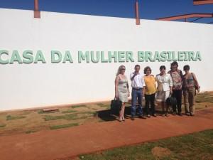 Em Campo Grande, ONU Mulheres visita futuras instalações da Casa da Mulher Brasileira/