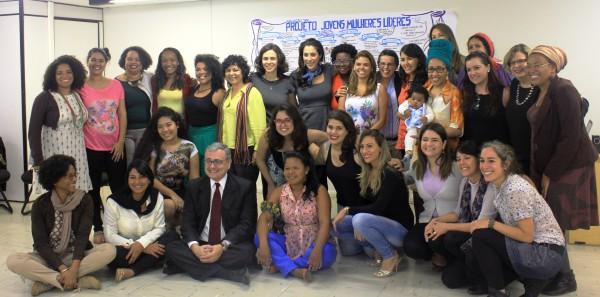 Jovens Mulheres Líderes se despedem do programa sobre Gênero e Juventude da SNJ, PNUD e ONU Mulheres/