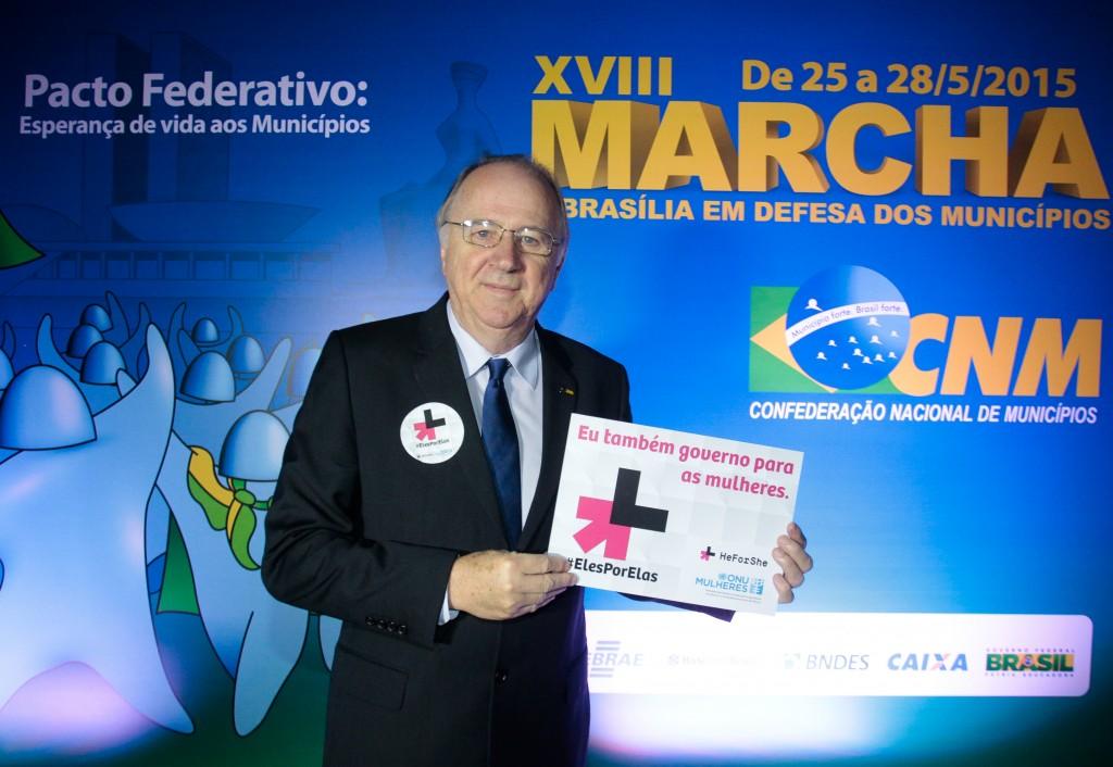 Prefeitos demostram apoio ao movimento #ElesPorElas e fazem adesão à plataforma heforshe.org/pt/
