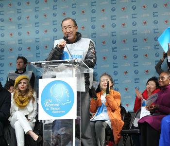 Mundo precisa responder aos ataques de extremistas contra mulheres, diz secretário geral da ONU/