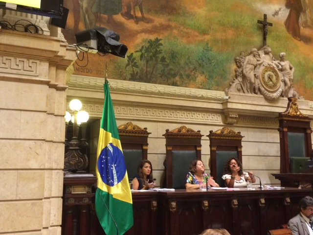 ONU Mulheres participa de debate sobre Pequim+20 na Câmara Municipal do Rio de Janeiro/