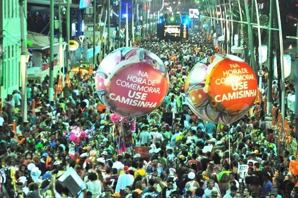 Pequim+20 no carnaval/