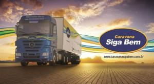 """""""O Valente não é Violento"""" integra a Caravana Siga Bem que percorrerá o Brasil em ações com caminhoneiras e caminhoneiros/"""
