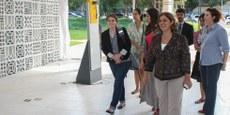 Representante da Fundação das Nações Unidas visita Casa da Mulher Brasileira de Brasília/
