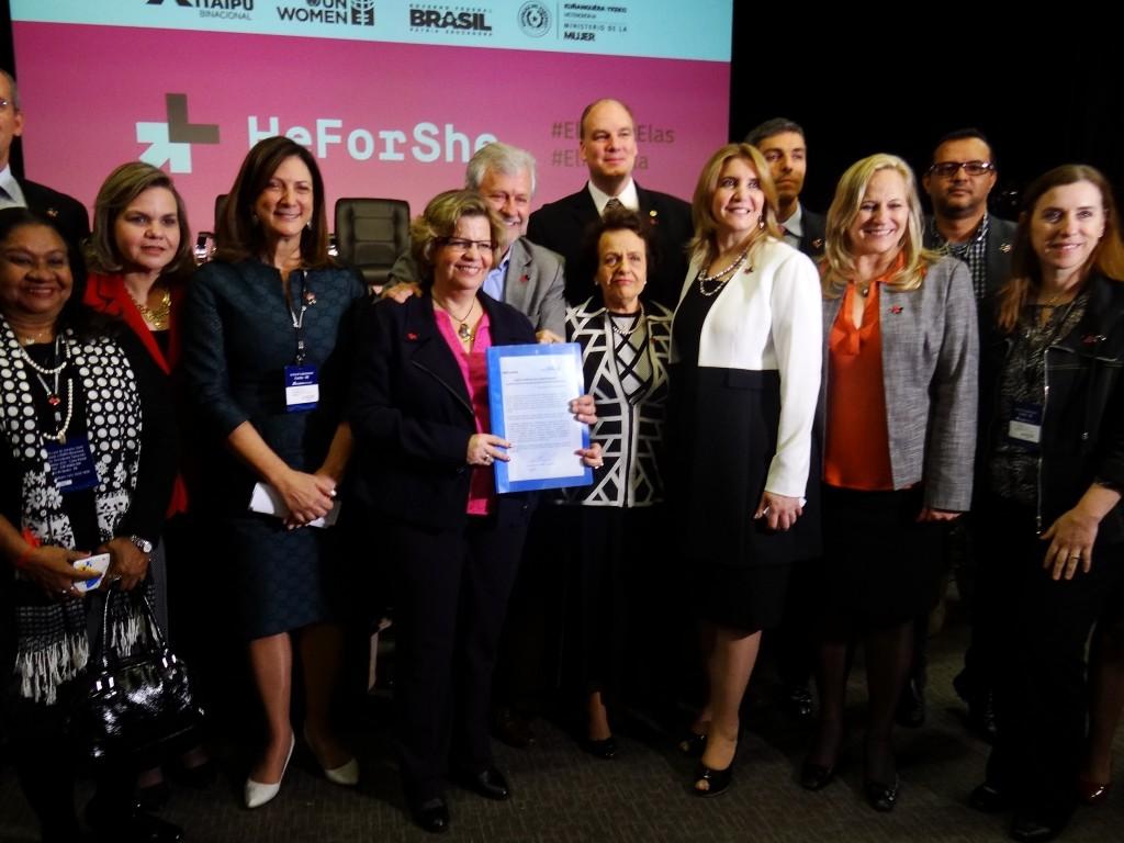 ONU Mulheres e parceiros criam Comitê Brasil ElesPorElas em apoio a movimento internacional pela igualdade de gênero/