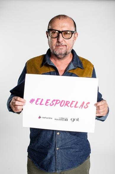 GNT e ONU Mulheres firmam parceria e lançam campanha #ElesPorElas/