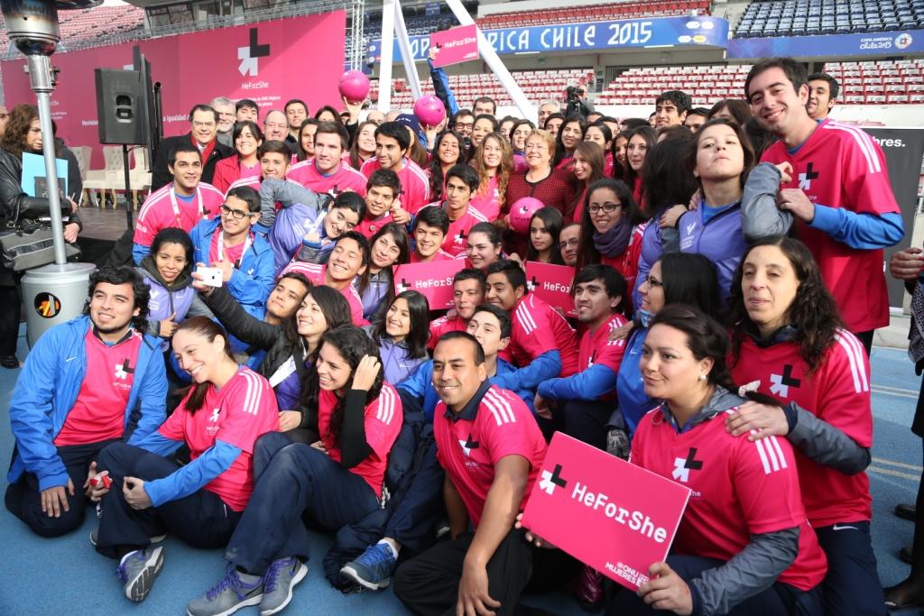 ONU Mulheres Américas e Caribe convoca o time de um milhão de homens para ganhar a partida contra a desigualdade de gênero/