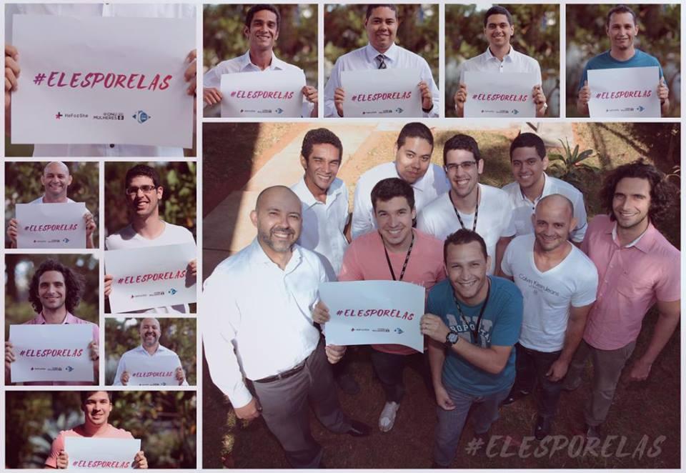 Movimento #ElesPorElas conquista o apoio de 10.000 homens brasileiros em defesa da igualdade de gênero/