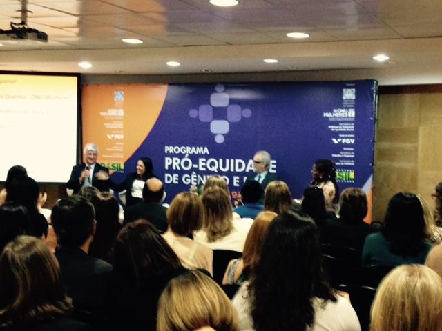 Pró Equidade de Gênero e Raça mobiliza empresas privadas e públicas durante encontro, nesta 2ª feira, em São Paulo/