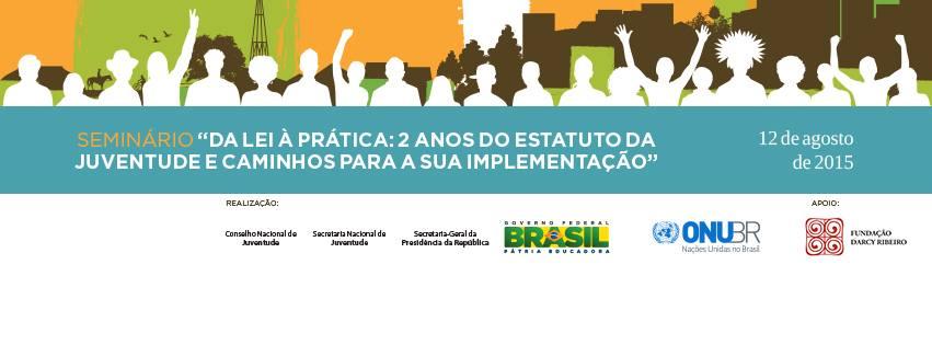 ONU Brasil e governo brasileiro comemoram o Dia Internacional da Juventude com debate sobre direitos da população jovem/