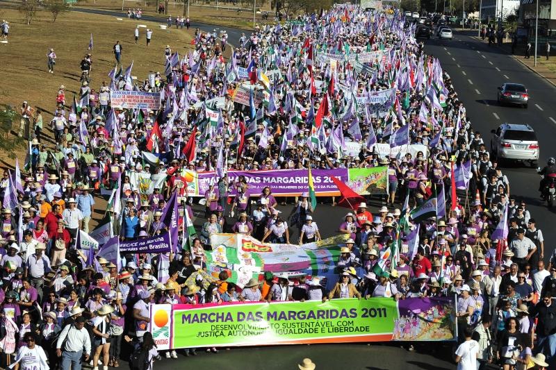 Na Marcha das Margaridas, ONU Mulheres destaca liderança das mulheres para alcance dos Objetivos de Desenvolvimento Sustentáveis/