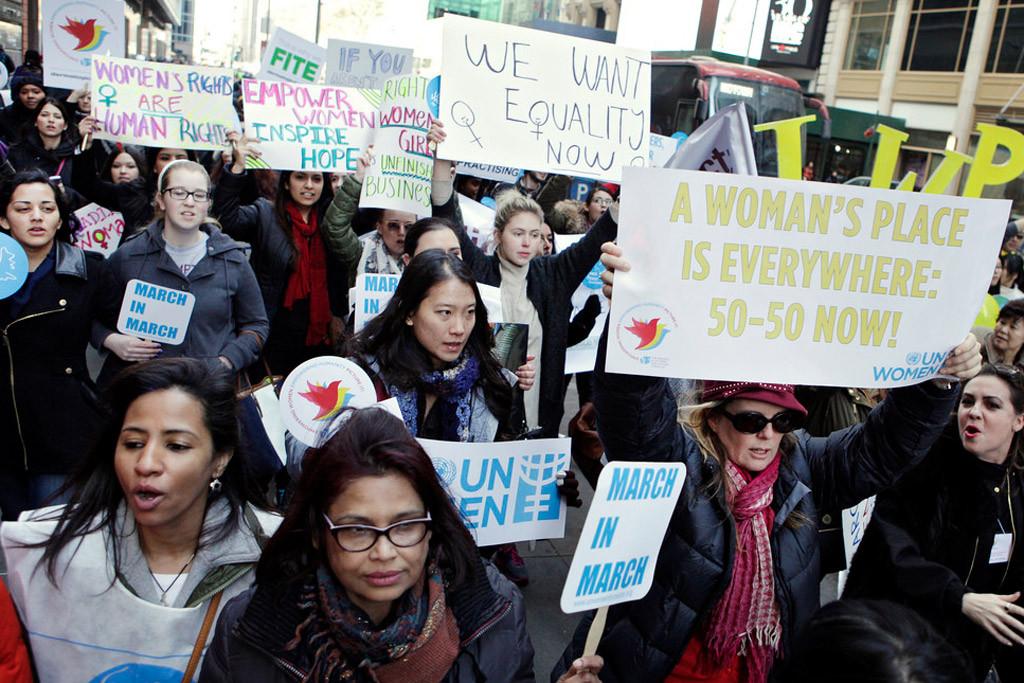 Empresas e fundações globais se comprometem a financiar a igualdade de gênero em evento na ONU/