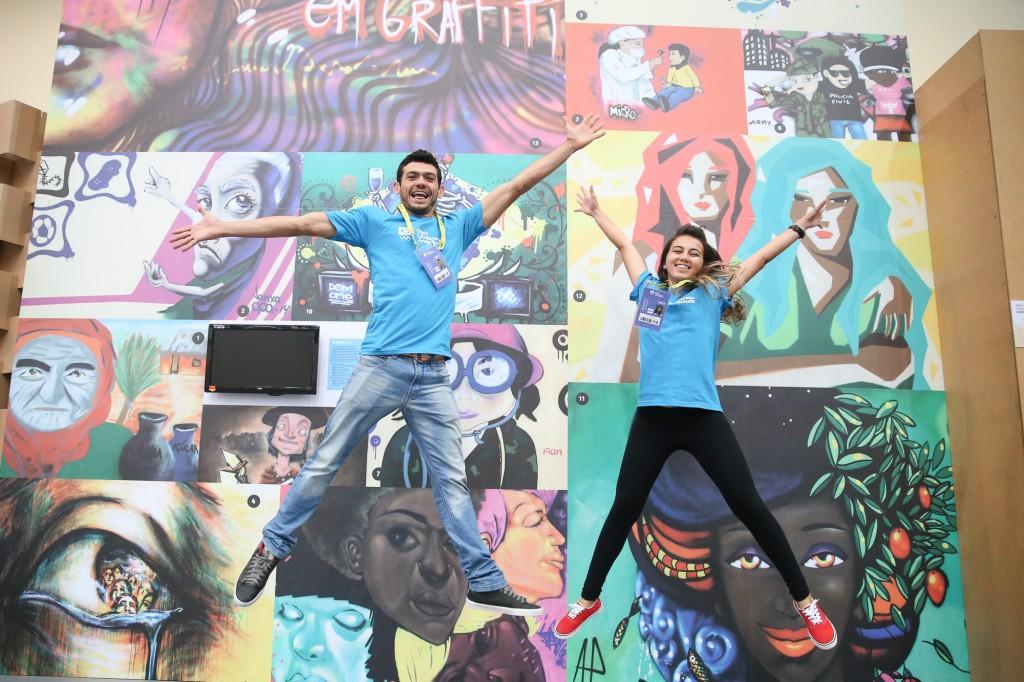 COB e ONU Mulheres levam mensagem de igualdade de gênero para Jogos Escolares da Juventude/