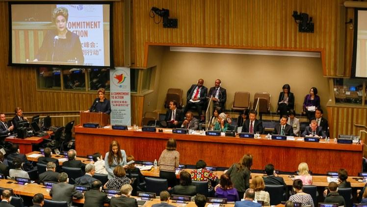 Chefe da ONU defende um planeta igualitário entre homens e mulheres até 2030/