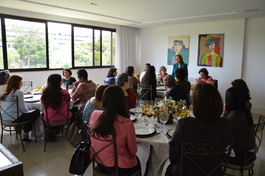 ONU Mulheres promove encontro com diplomatas/