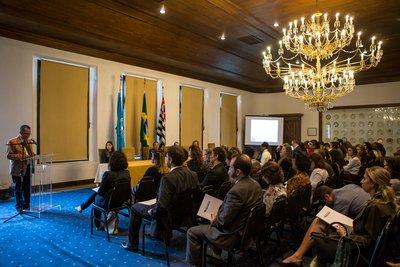 ACNUR, ONU Mulheres e Pacto Global participam de encontro sobre o tema trabalho para refugiados em São Paulo/