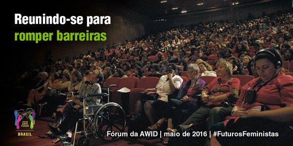 Fórum Internacional AWID recebe, até 8/2, inscrições gratuitas de ativistas do Brasil/