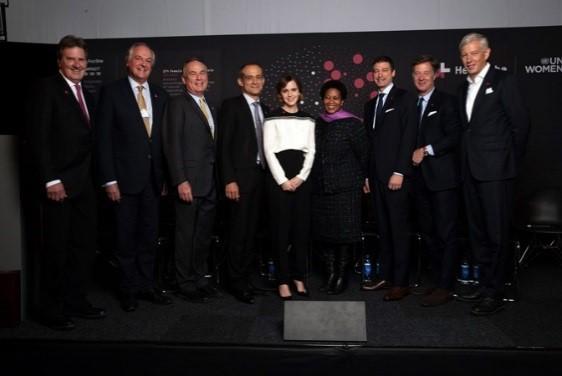 CEOs das empresas do IMPACTO 10X10X10 de #ElesPorElas revelam dados de gênero em relatório lançado durante o Fórum Econômico Mundial/