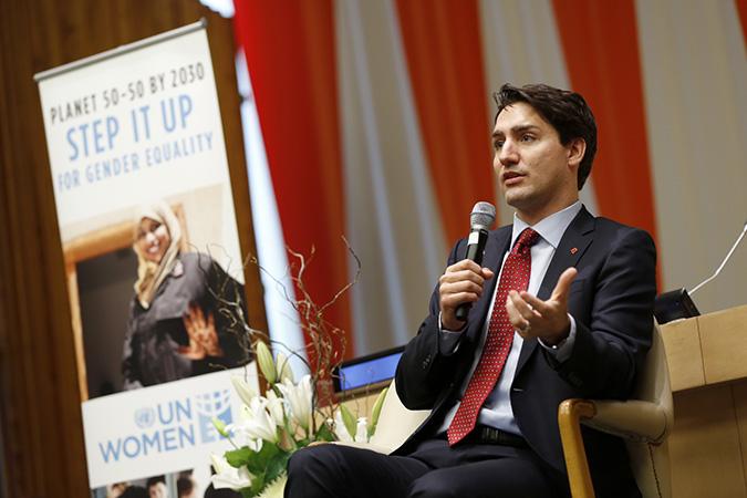 Primeiro ministro do Canadá é convidado a se juntar ao movimento da ONU Mulheres, 'ElesPorElas'/