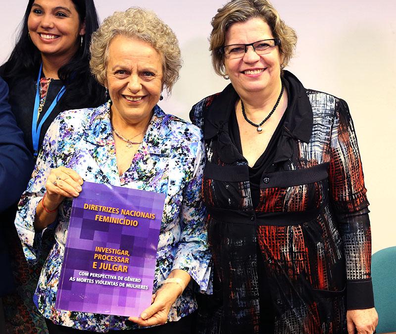 Nações Unidas e governo brasileiro recomendam  diretrizes nacionais para procedimentos de investigação, processo e julgamento de crimes feminicidas/