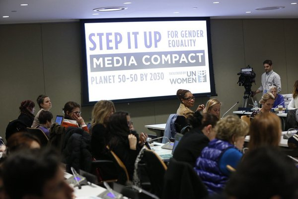 Empresa Brasil de Comunicação e Instituto Patrícia Galvão aderem a pacto global da ONU Mulheres pela igualdade de gênero na mídia/