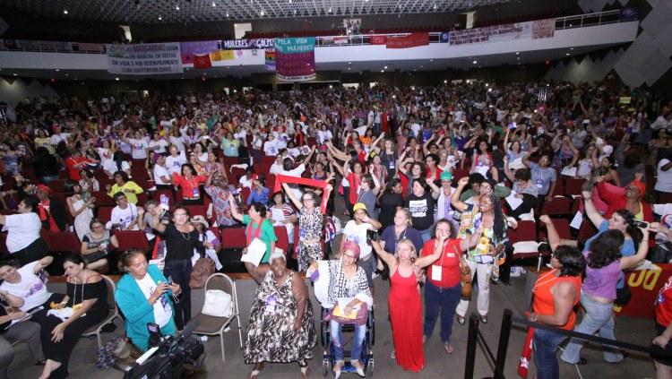 Delegadas da 4a Conferência de Políticas para as Mulheres defendem igualdade de condições para candidaturas/