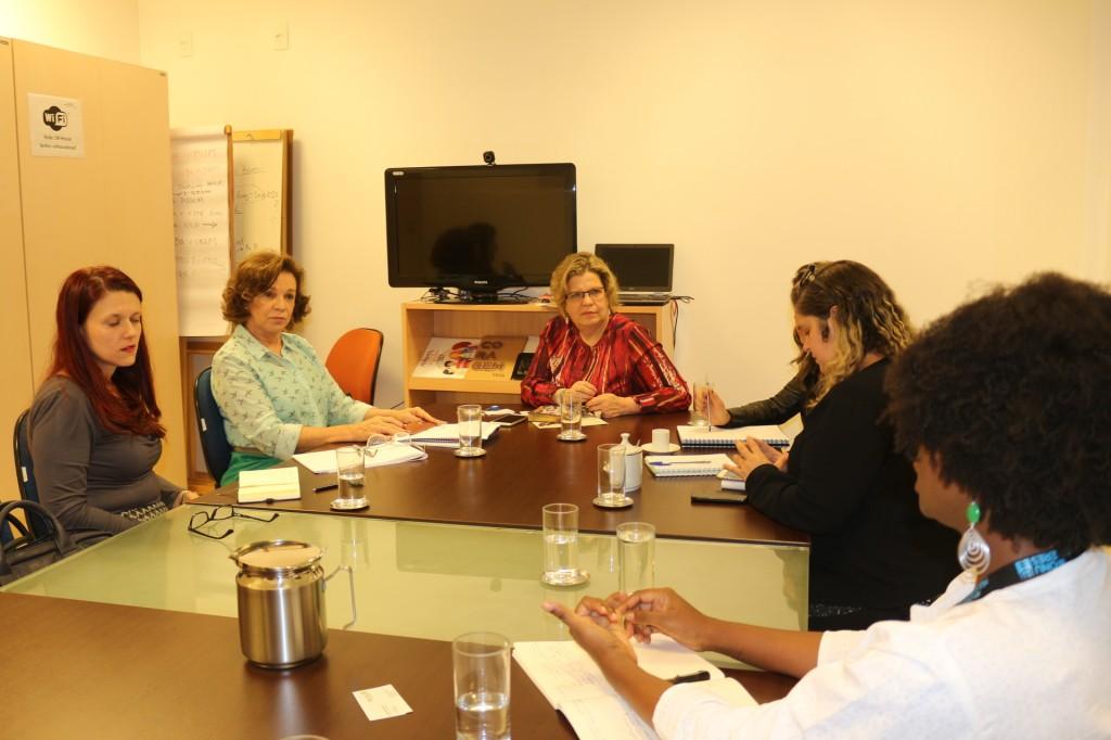 ONU Mulheres se reúne com Secretaria de Políticas para as Mulheres e Secretaria de Direitos Humanos /
