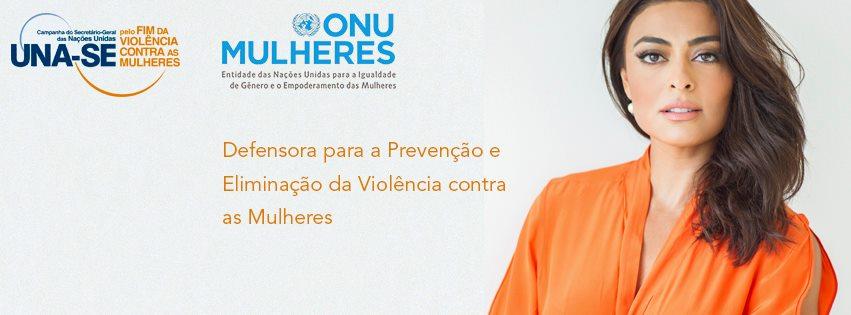 Juliana Paes leva para as redes sociais compromisso pelo fim da violência contra as mulheres