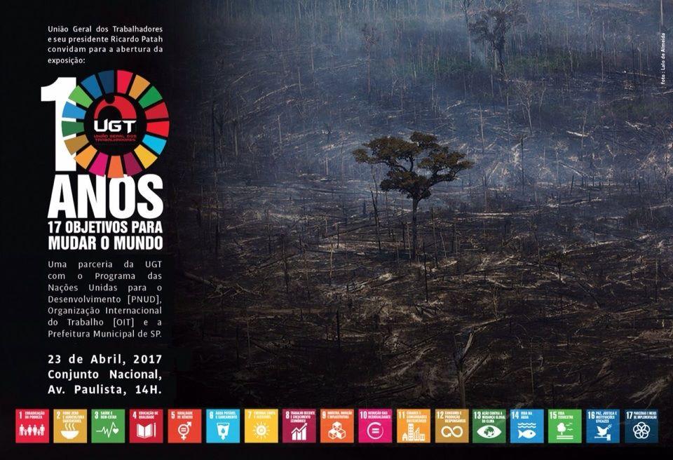 Objetivos de Desenvolvimento Sustentável são tema de exposição fotográfica da UGT para o Dia do Trabalho/