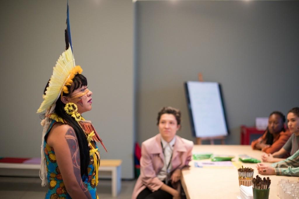 No Dia Laranja, ONU alerta para violência contra mulheres indígenas /