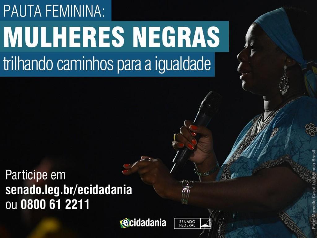 Pauta Feminina homenageia mês das mulheres negras/