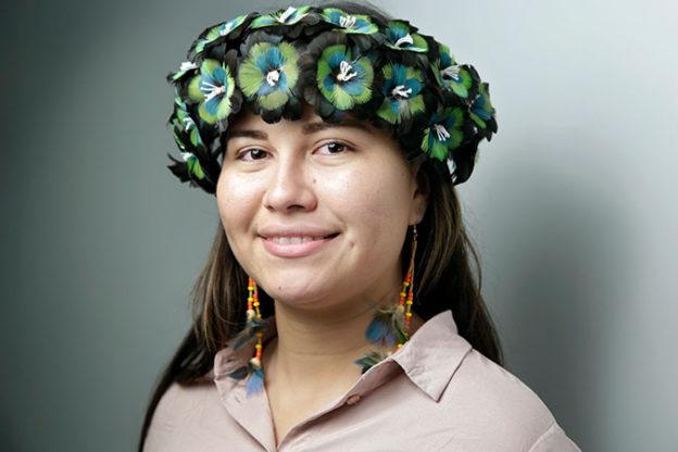 'É hora de o mundo ouvir nossa voz', diz ativista indígena brasileira/direitosdasmulheres