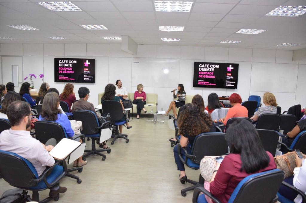 Escola Nacional de Administração Pública faz adesão ao movimento ElesPorElas HeForShe/noticias elesporelas heforshe