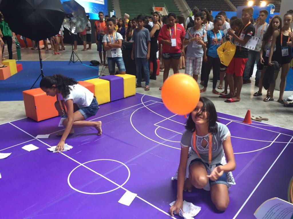 Nos Jogos Escolares Curitiba 2017, ONU Mulheres incentiva empoderamento de meninas pelo esporte/noticias direitosdasmulheres