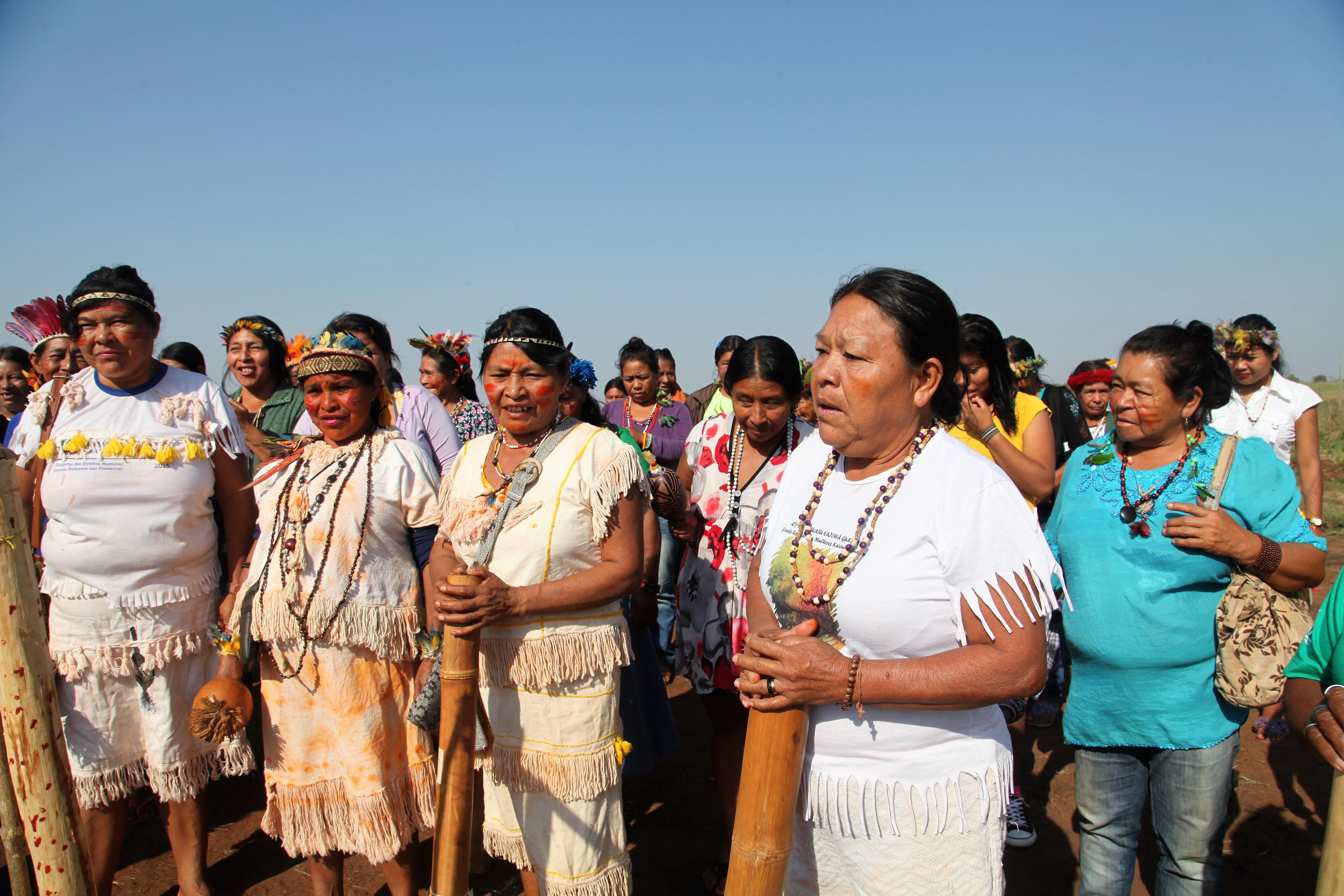 Nações Unidas participam do Aty Kuña, grande assembleia das mulheres indígenas, em Mato Grosso do Sul/noticias direitosdasmulheres