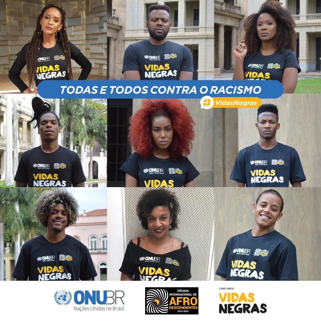 ONU Brasil lança campanha pelo fim da violência contra a juventude negra/