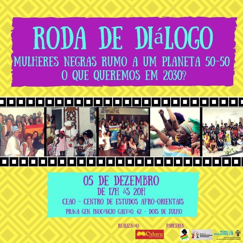 Com apoio da ONU Mulheres, Movimento de Mulheres Negras Brasileiras discute ações para os Objetivos de Desenvolvimento Sustentável/planeta 50 50 onu mulheres noticias