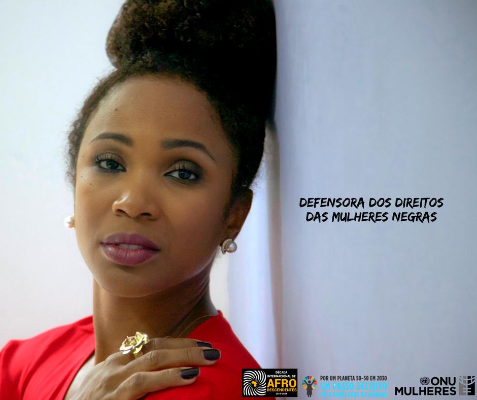 Kenia Maria – Defensora dos Direitos das Mulheres Negras/
