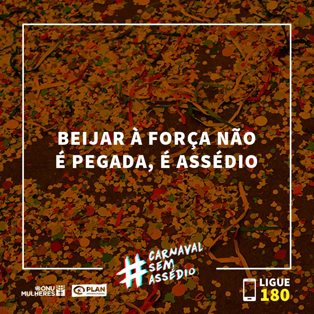 ONU Mulheres apoia a campanha #CarnavalSemAssédio/noticias direitosdasmulheres carnaval