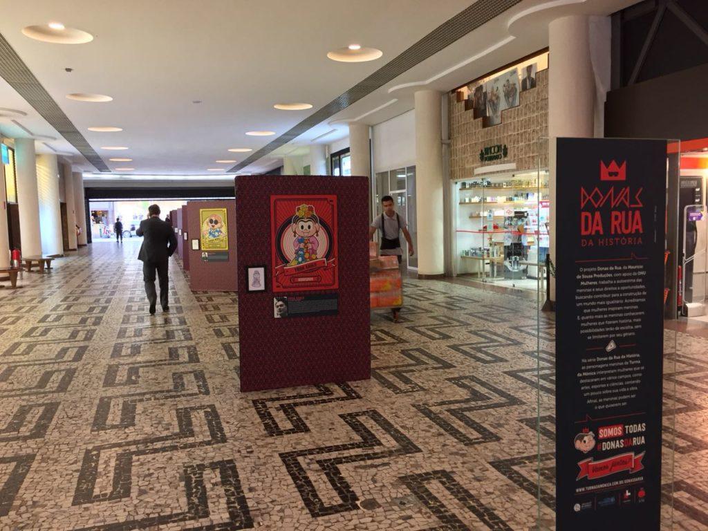 Turma da Mônica homenageia grandes mulheres da História em exposição exclusiva para a Semana de Arte HeForShe/principios de empoderamento das mulheres planeta 50 50 onu mulheres noticias igualdade de genero elesporelas heforshe direitosdasmulheres