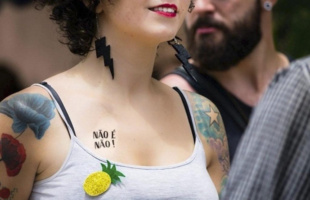 #CarnavalElesPorElas   A responsabilidade sobre o assédio é do assediador, por Nadine Gasman/planeta 50 50 noticias elesporelas heforshe direitosdasmulheres carnaval