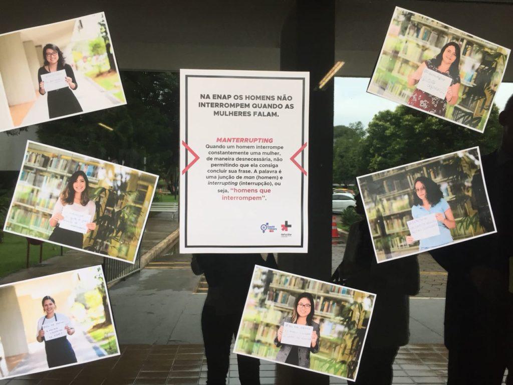 No Dia Internacional da Mulher, ONU Mulheres defende igualdade de gênero em debate na Escola Nacional de Administração Pública/onu mulheres noticias elesporelas heforshe direitosdasmulheres